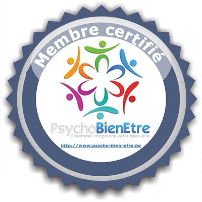 Votre psychologue à Mons est membre certifié de PsychoBienEtre